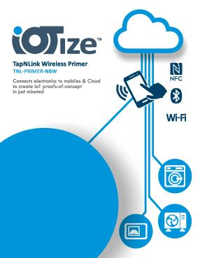 Quick Start for TapNLink Primer Wi-Fi, NFC, BLE